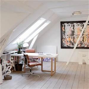 Wohnzimmer Stylisch Einrichten : arbeitszimmer dachgeschoss ideen 92 bilder ~ Markanthonyermac.com Haus und Dekorationen