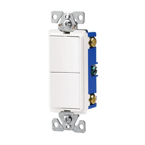 Cooper Wiring Devices Amp White Single Pole Switch