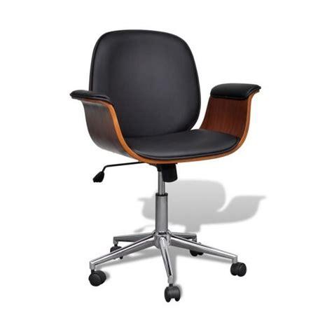 chaise avec accoudoir pas cher superbe chaise pivotante avec accoudoir en cuir artificiel