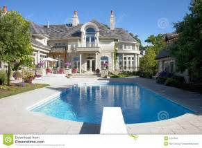 luxury home plans with pools luxury home pool royalty free stock images image 2791439
