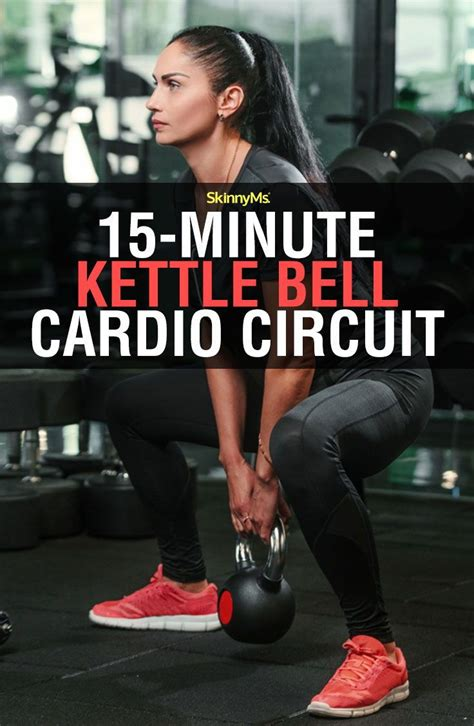cardio kettlebell circuit minute