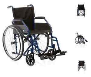Acquisto Sedia A Rotelle - sedia a rotelle carrozzina pieghevole ad autospinta