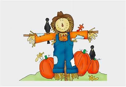 Scarecrow Fall Clipart Clip Festival Pumpkin Pumpkins