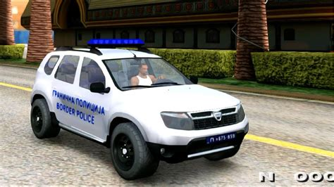 Renault Duster Modification by Gta San Andreas Dacia Duster Granična Policija Mods