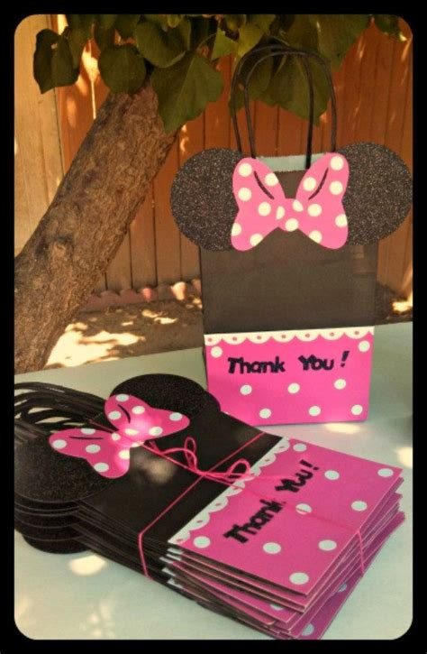 mickey mouse minnie mouse goody bags candy bags
