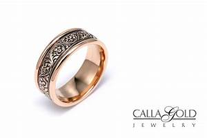 Rose gold the blushing gold for your engagement ring for Norwegian wedding rings