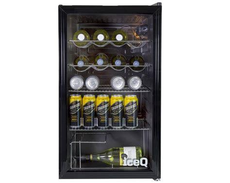 chrome wire shelving iceq 93 litre counter glass door display fridge