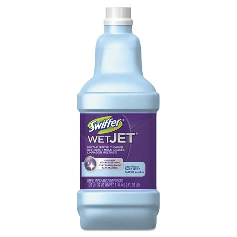 Swiffer Wetjet Wood Floor Cleaner Msds by Wetjet System Cleaning Solution Refill By Swiffer
