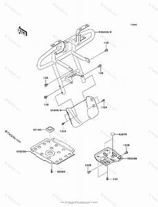 Kawasaki Atv 2006 Oem Parts Diagram For Guard S