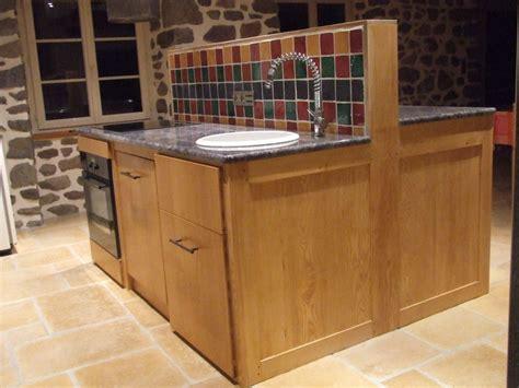 cuisine fabrication ilot de cuisine la beaut 233 du bois