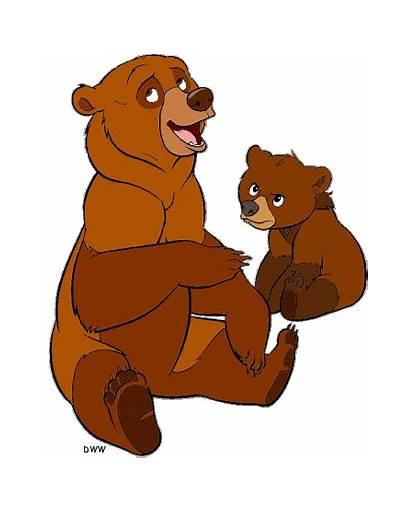 Bear Clipart Clip Brother Bears Disney Cliparts