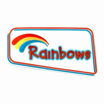 Rainbow Badge Girlguiding Rainbows Guide Badges Purpose