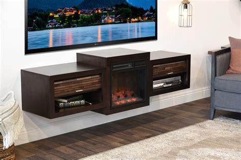 fireplace tv stand     tv eco geo espresso