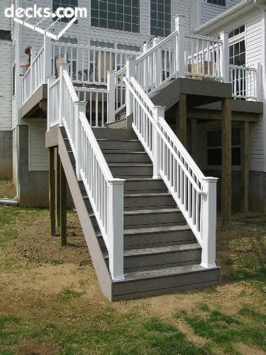deck railing pictures stairs decks deck handrail