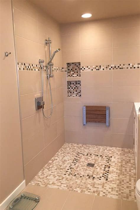 advantages  disadvantages   curbless walk  shower