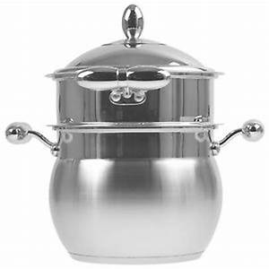 3pc 4L Stainless Steel Stove Top Steamer Food Cooker Pot ...