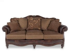 Claremore Antique Sofa And Loveseat by Claremore Antique Collection 84303 Sofa Loveseat Set