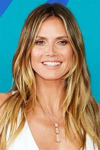 Heidi Klum Frisur 2017 : 18 celebrity balayage hair colors best balayage highlights for summer 2017 ~ Frokenaadalensverden.com Haus und Dekorationen
