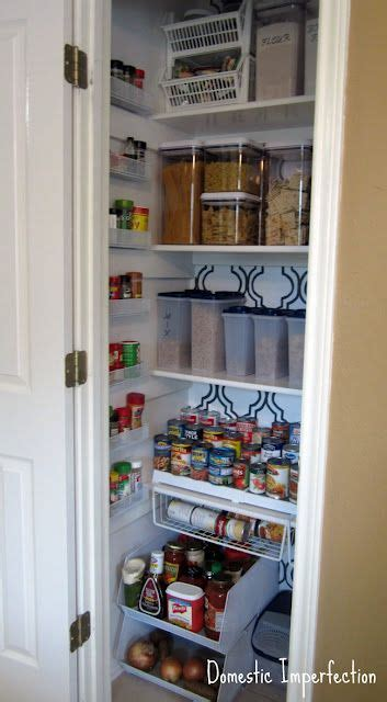 Pantry Organization Ideas Closet by The Less Mess Project Pantry Reveal Organization