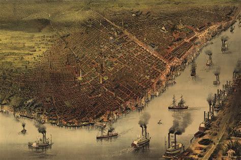New Orleans Louisiana History And Cartography (1885) Youtube