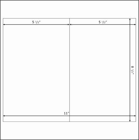 fold card template word sampletemplatess