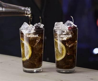 Vodka Cocktail Drink Coke Absolut Gifs Destiny