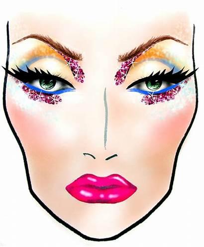Face Makeup Charts Mac Chart Looks Blank