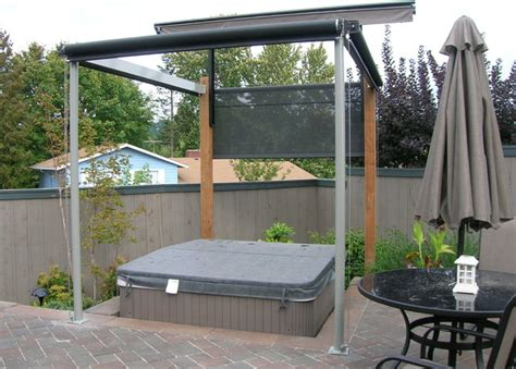 Hot Tub Cover And Privacy Screens