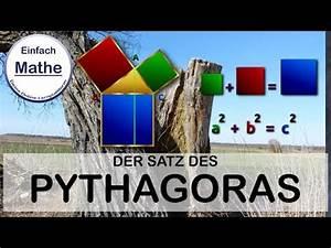 Satz Des Pythagoras A Berechnen : satz des pythagoras anwendung textaufgabe by einfach mathe youtube ~ Themetempest.com Abrechnung