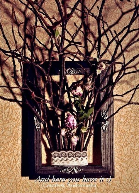twig art     twig ornament home diy  cut