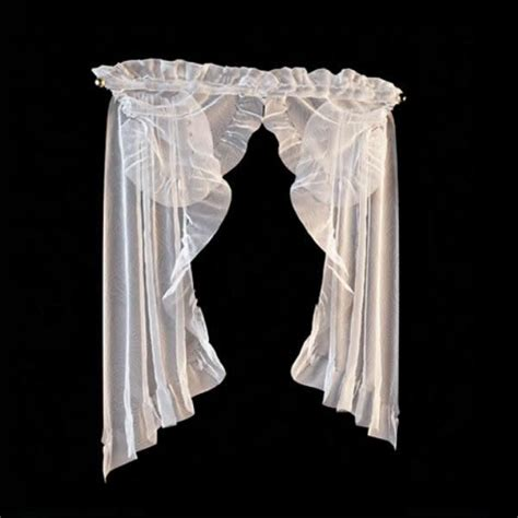 lace valance curtain  model dsmax files