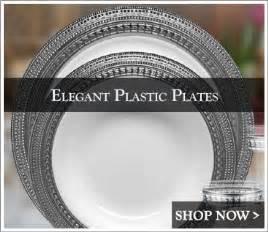 plastic plates for wedding plastic wedding plates posh supplies