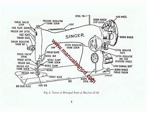 singer 15 91 sewing machine instruction manual With singer 15 91 wiring diagram