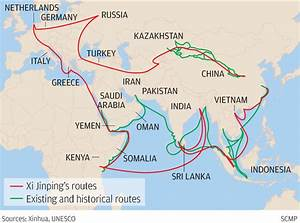 China pushes fo... Silk Road