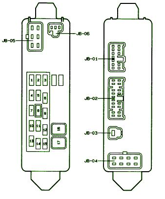 Mazda Protege Fuse Box Diagram Circuit Wiring Diagrams