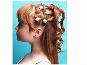 peinados de niña con chinos