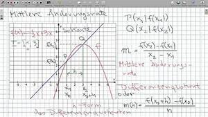 Momentane änderungsrate Berechnen : differenzenquotient nderungsrate und h formel youtube ~ Themetempest.com Abrechnung