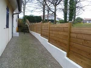 Palissade De Jardin : palissade bois contemporain jardin bordeaux par la ~ Melissatoandfro.com Idées de Décoration