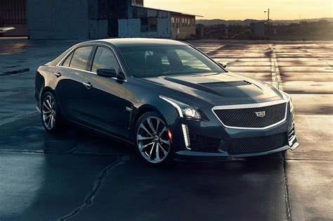 2016 Cadillac Cts-v First Look