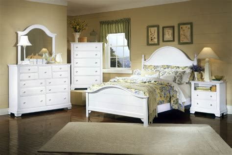 cottage collection panel bedroom set snow white finish