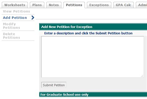 Petitions Coordinators The Graduate School Uncw