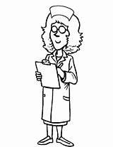 Nurse Coloring Pages Doctor Nurses Cartoon Preschool Books Printable Hat Getcoloringpages Coloringhome Template Popular sketch template