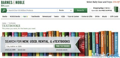 barnes and noble rent textbooks 8 websites to buy or rent college textbooks for extremely