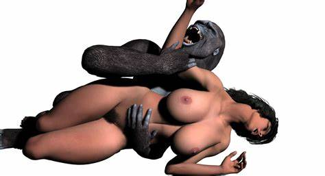 Woman Penetration With A Chimp