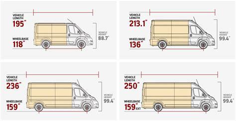 2017 Ram Promaster Cargo Van Interior Dimensions