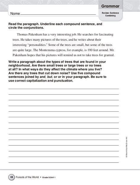 Ideas About 5th Grade Grammar Worksheets Printable,  Bridal Catalog