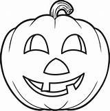 Pumpkin Coloring Garden sketch template