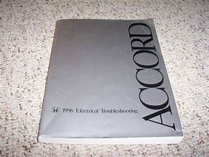 1996 Honda Accord Electrical Wiring Diagram Manual Dx Lx