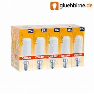Glühbirne E14 25 Watt : 10 x osram r hre 25w e14 matt gl hlampe gl hbirne 25 w ~ Watch28wear.com Haus und Dekorationen