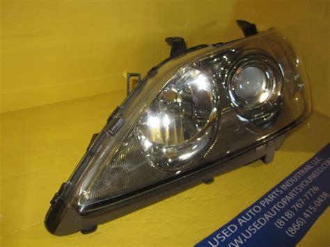 lexus headlight halogen no bulb used auto parts